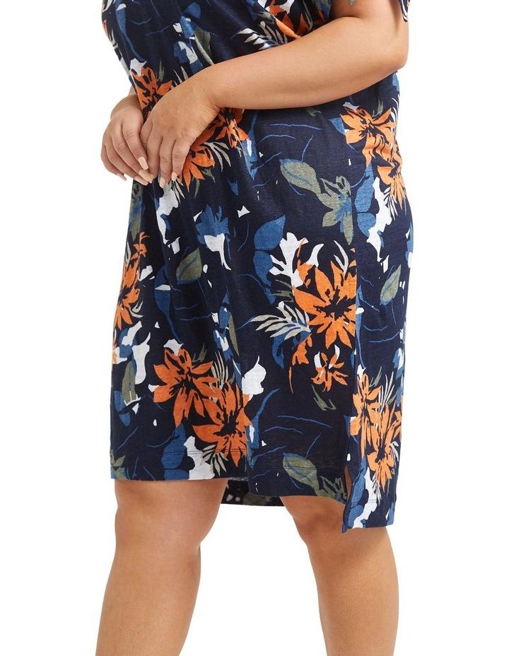 Skye Floral Linen Dress image 5