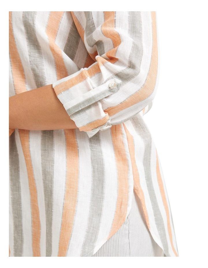 Mojito Linen Stripe Shirt image 5