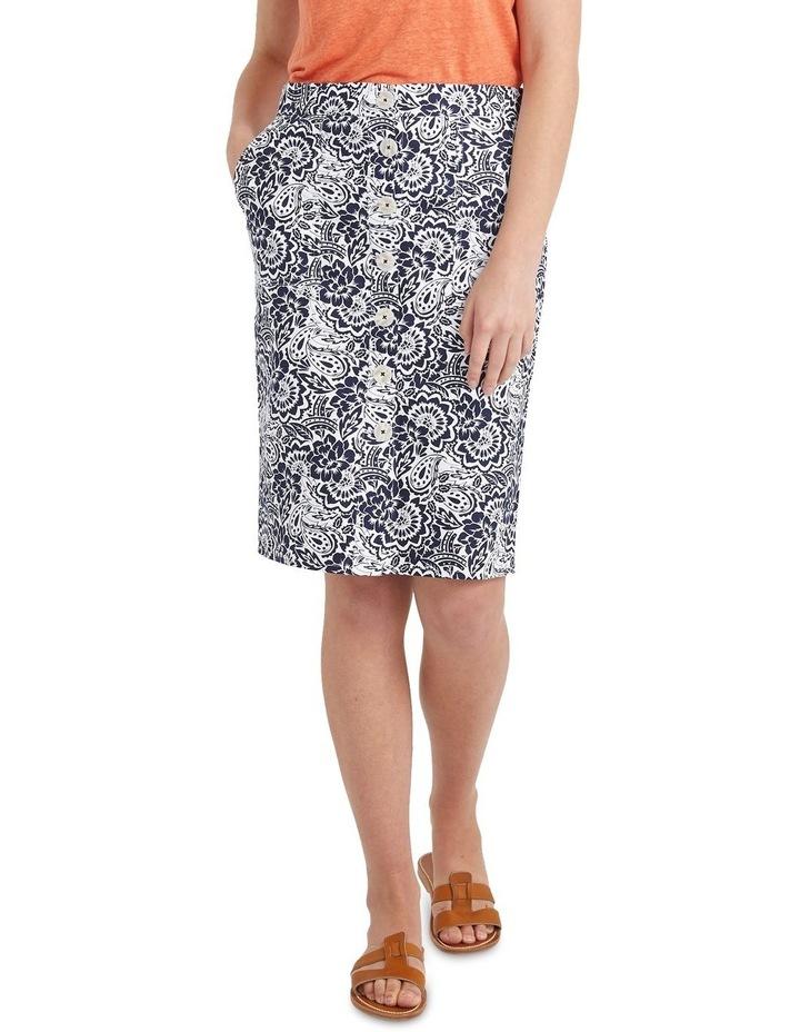 Lucia Cotton Print Skirt image 1