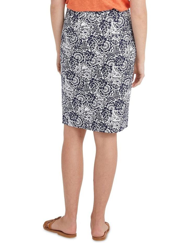 Lucia Cotton Print Skirt image 2