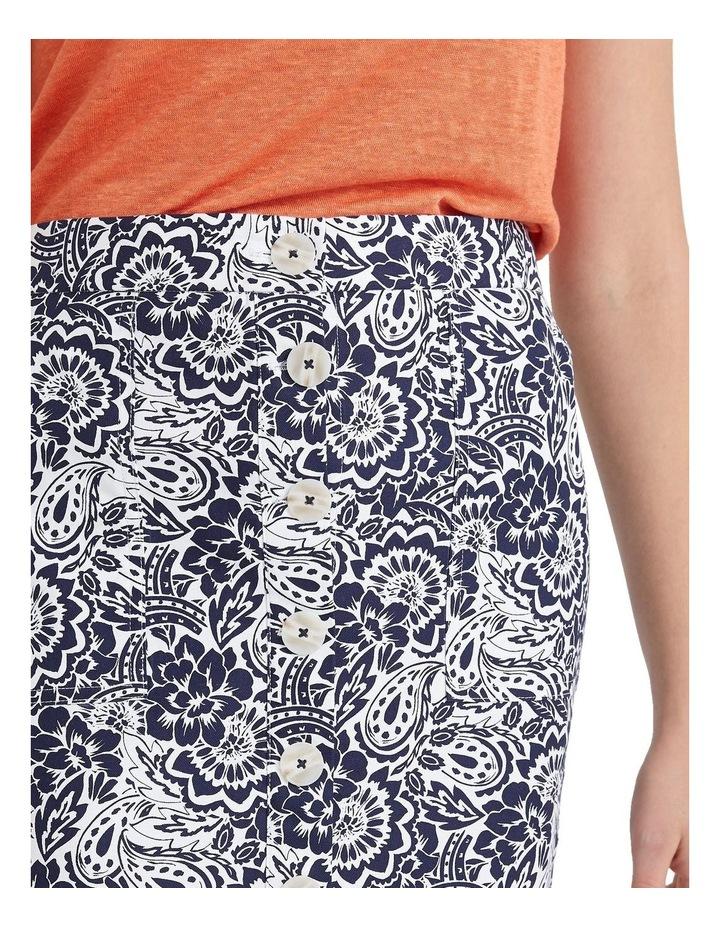 Lucia Cotton Print Skirt image 4