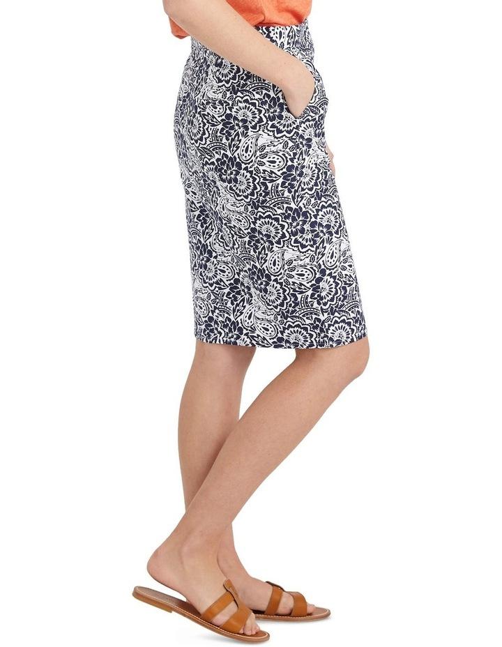 Lucia Cotton Print Skirt image 5