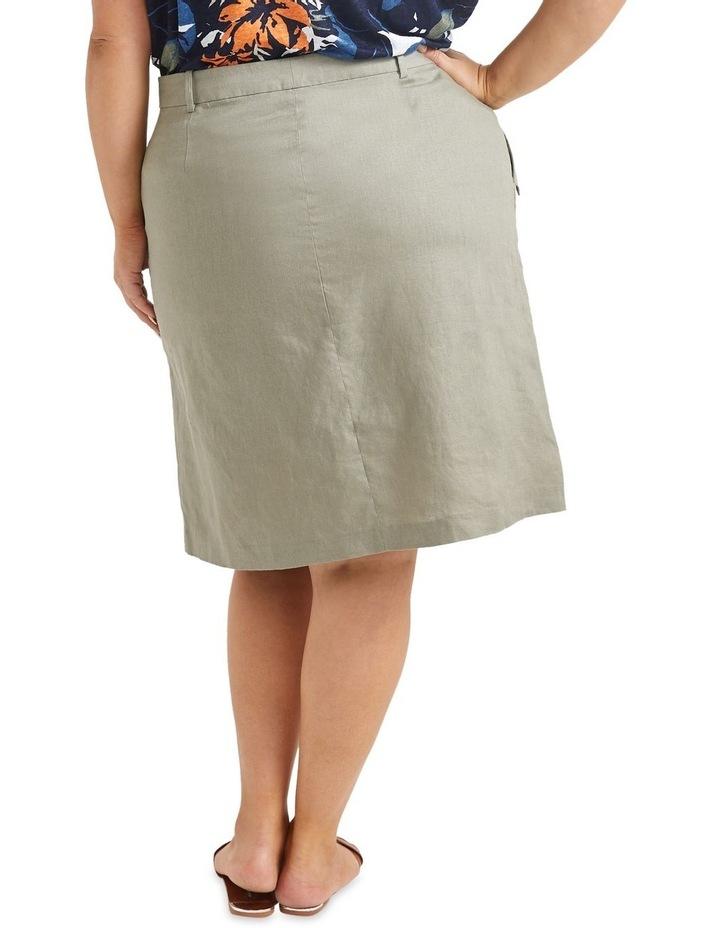 Josie Linen Tie Skirt image 2