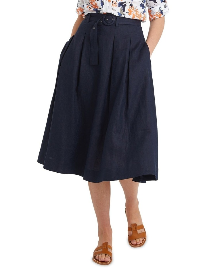 Eliza Linen Skirt image 1