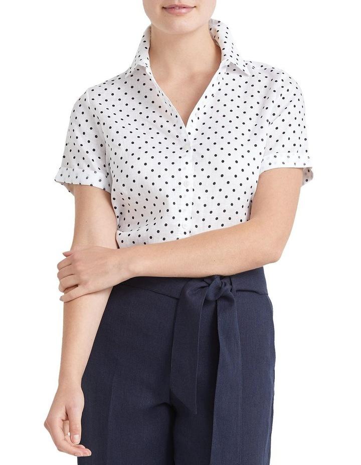 Daisy Short Sleeve Linen Shirt image 1