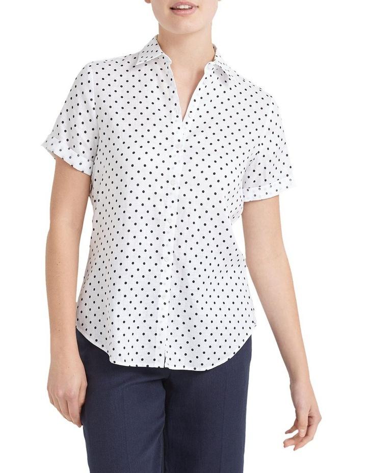 Daisy Short Sleeve Linen Shirt image 2