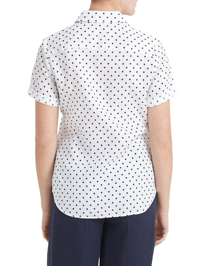 Daisy Short Sleeve Linen Shirt image 3