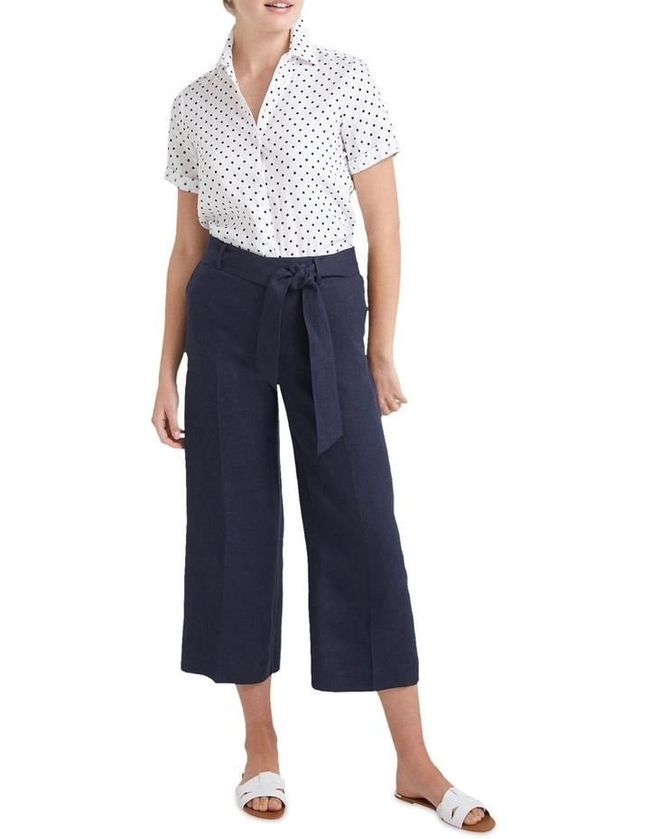 Daisy Short Sleeve Linen Shirt image 4