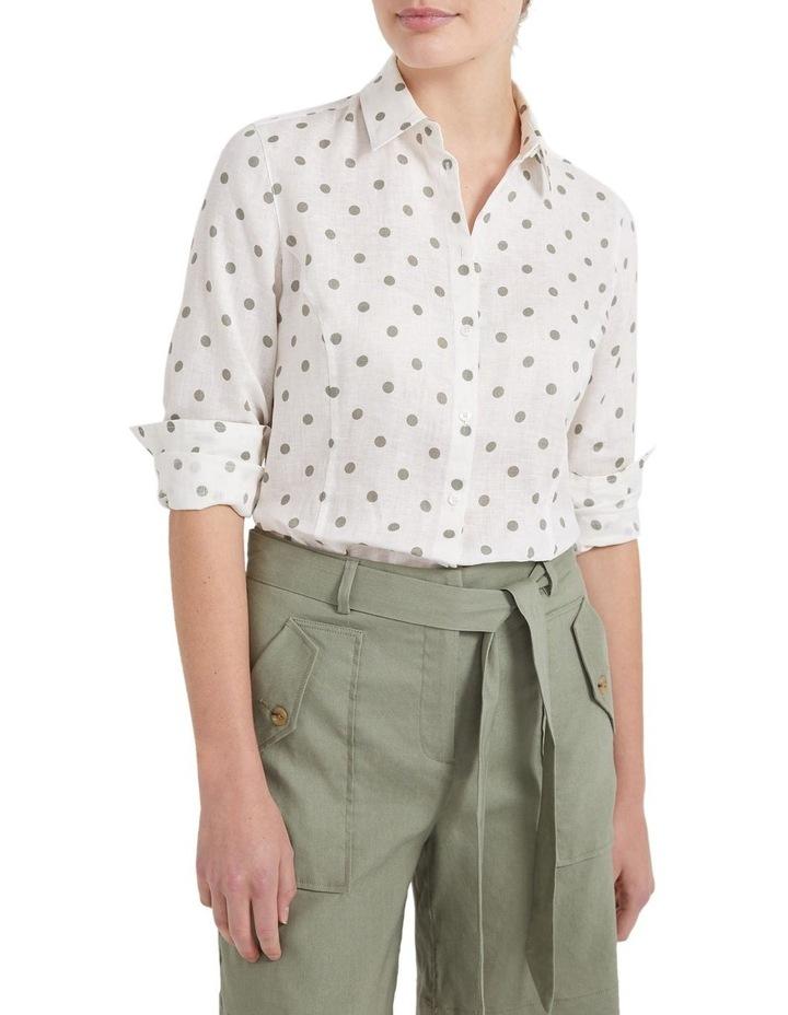 Daisy Spot Linen Shirt image 1