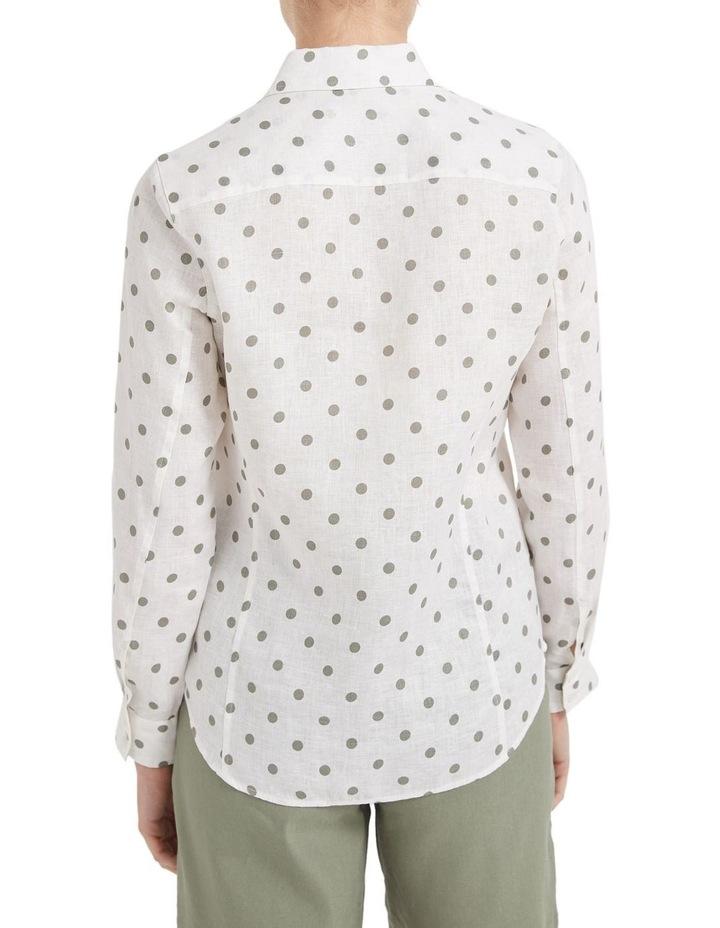 Daisy Spot Linen Shirt image 3