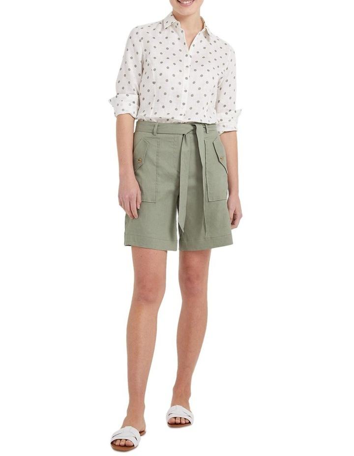 Daisy Spot Linen Shirt image 4