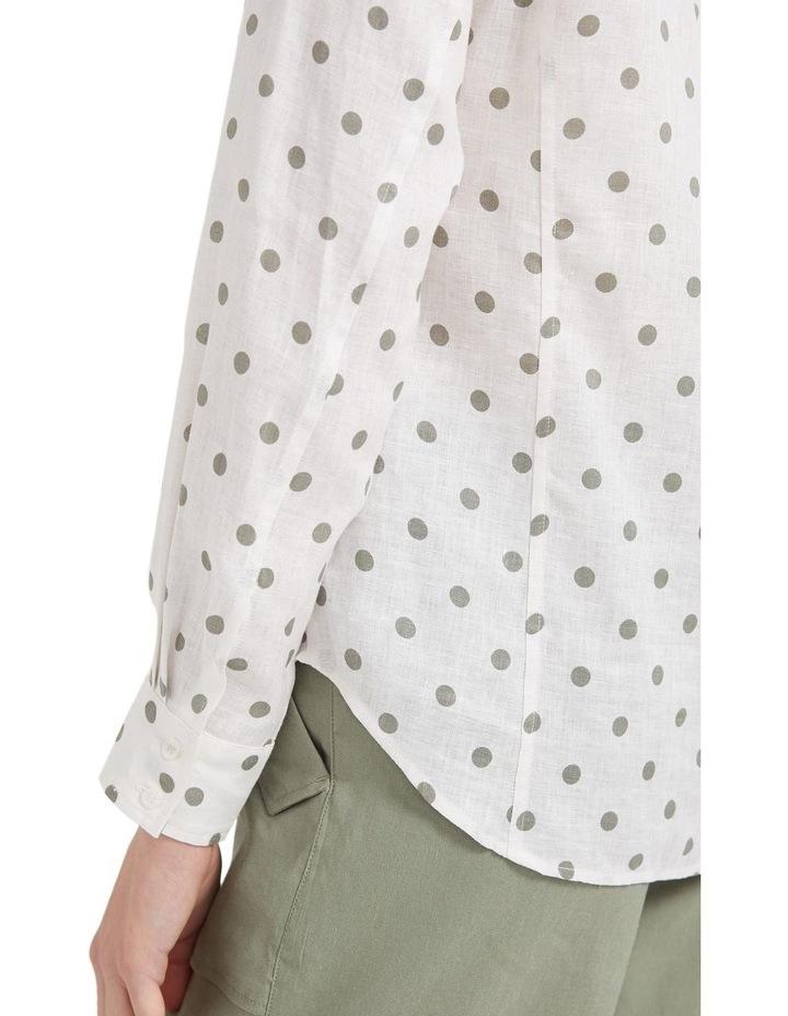 Daisy Spot Linen Shirt image 5