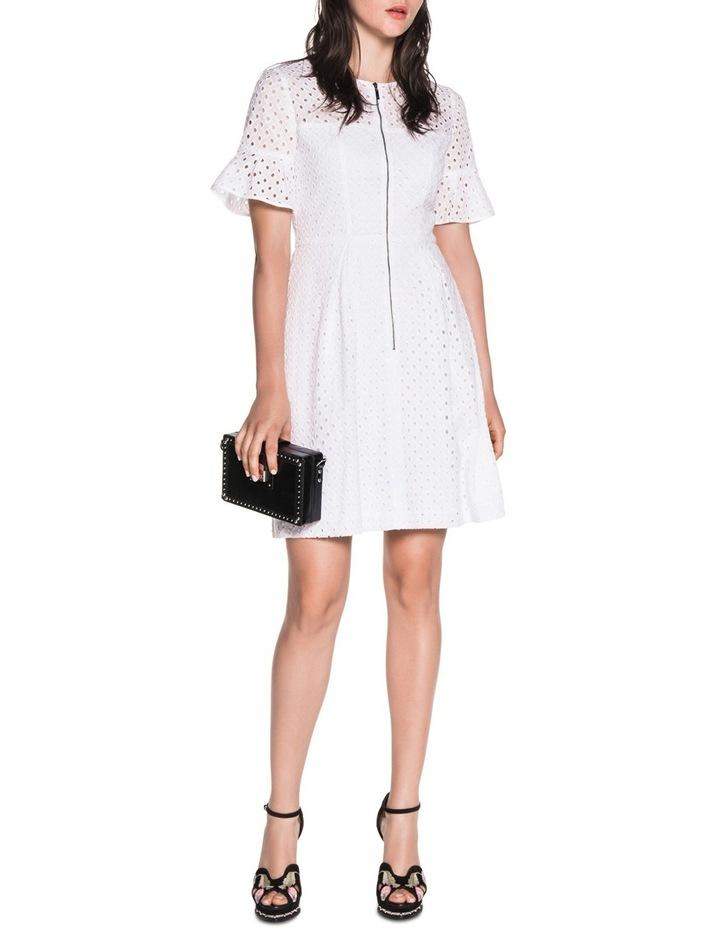 Diamond Cotton Broderie Dress image 1