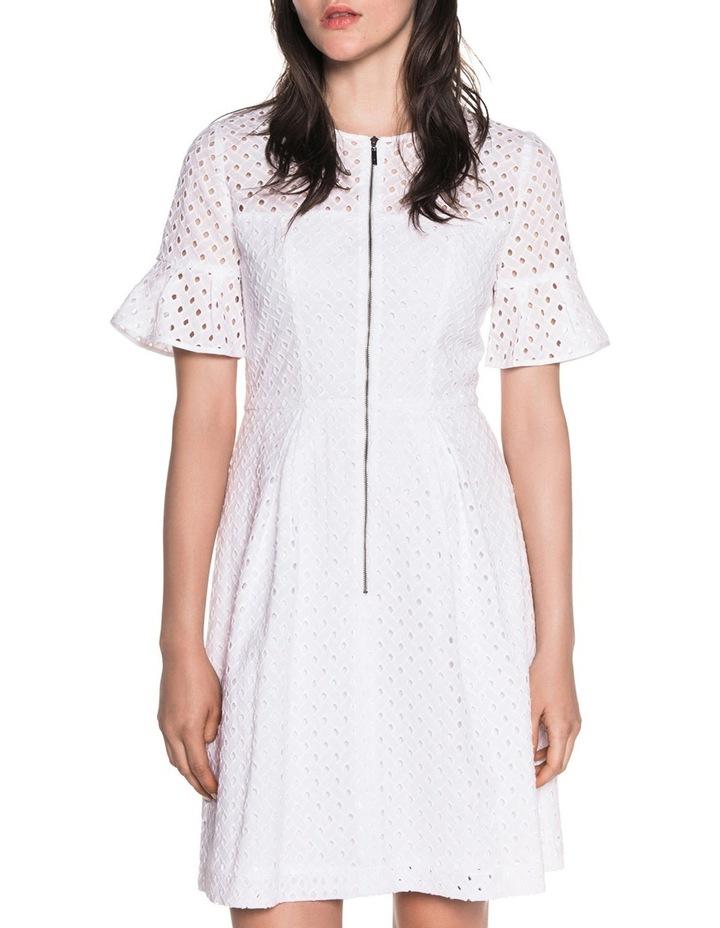 Diamond Cotton Broderie Dress image 2