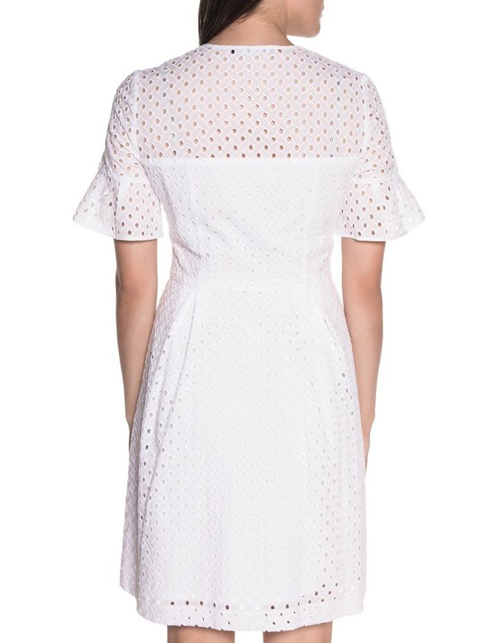 Diamond Cotton Broderie Dress image 3