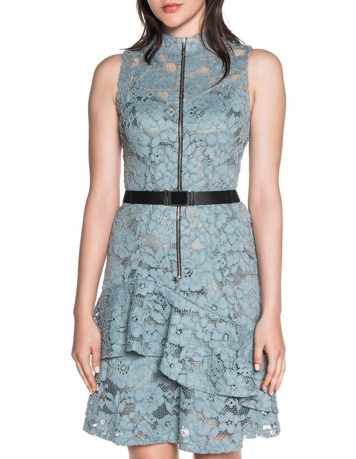 85de8da22342e Cue | Lace Asymmetric Ruffle Dress | MYER