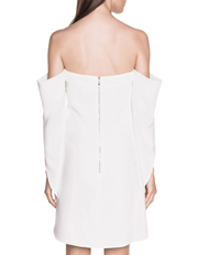 Cue - Off The Shoulder Draped Sleeve Dress