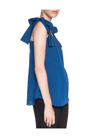 Cue - Bow Tie Shoulder Top