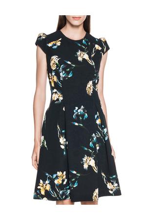 Cue - Orchid Floral Dress
