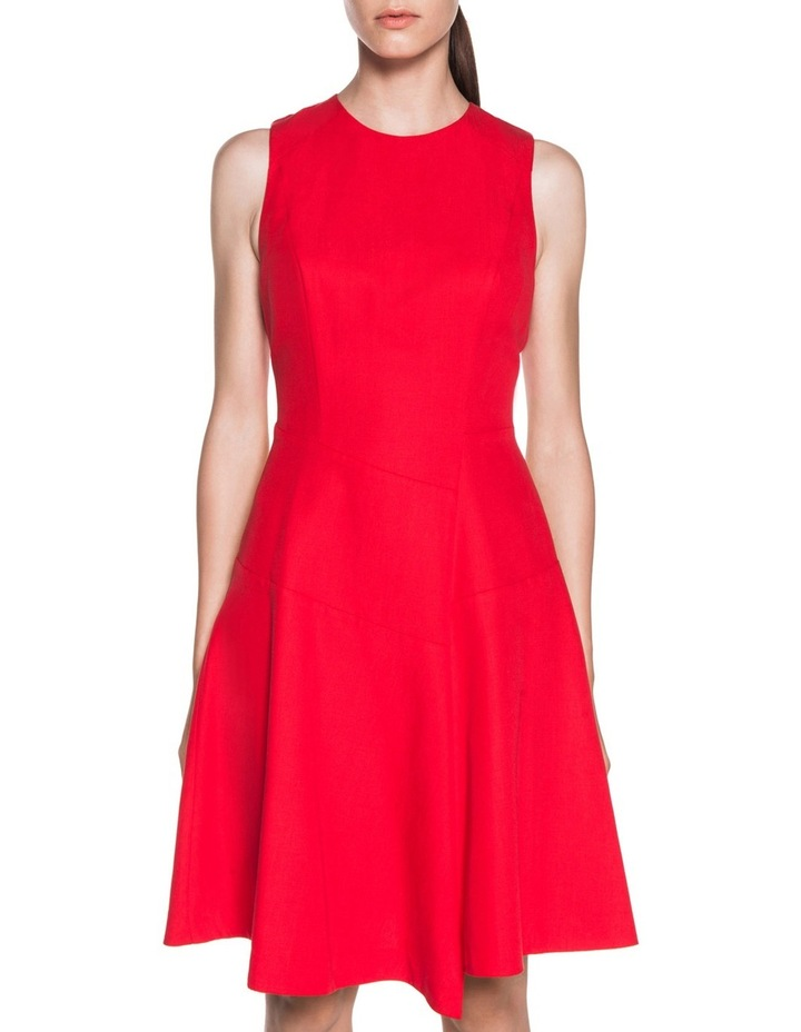 Asymmetric Fluted Panelled Dress image 2