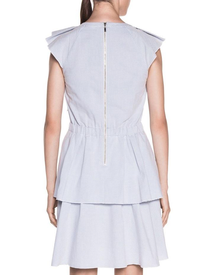 Cotton Stripe Frill Dress image 3