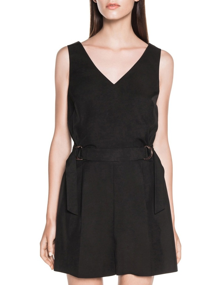 Fine Cotton Twill Playsuit image 2