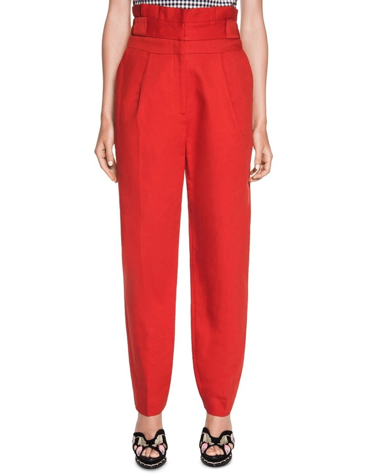 Linen Waisted Pant image 1