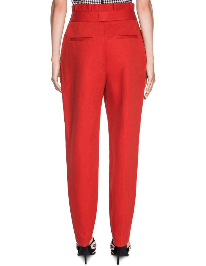 Linen Waisted Pant image 2