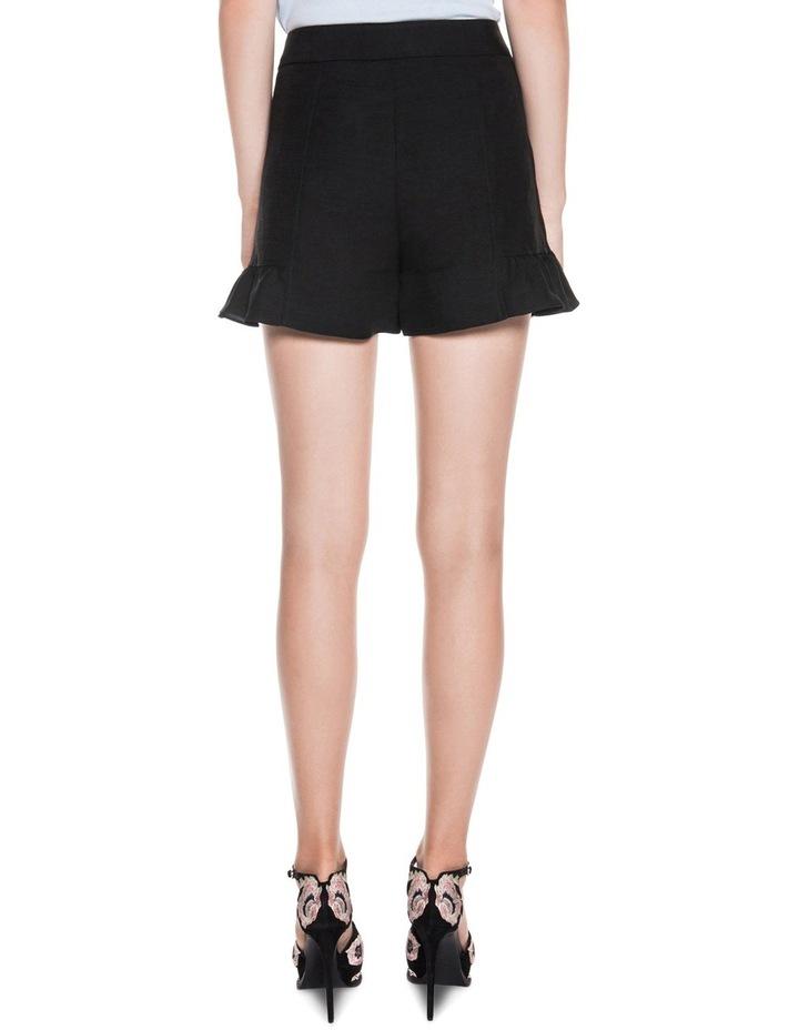 Linen Ruffle Hem Shorts image 2