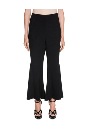 Cue - Crepe Cropped Flared Pant
