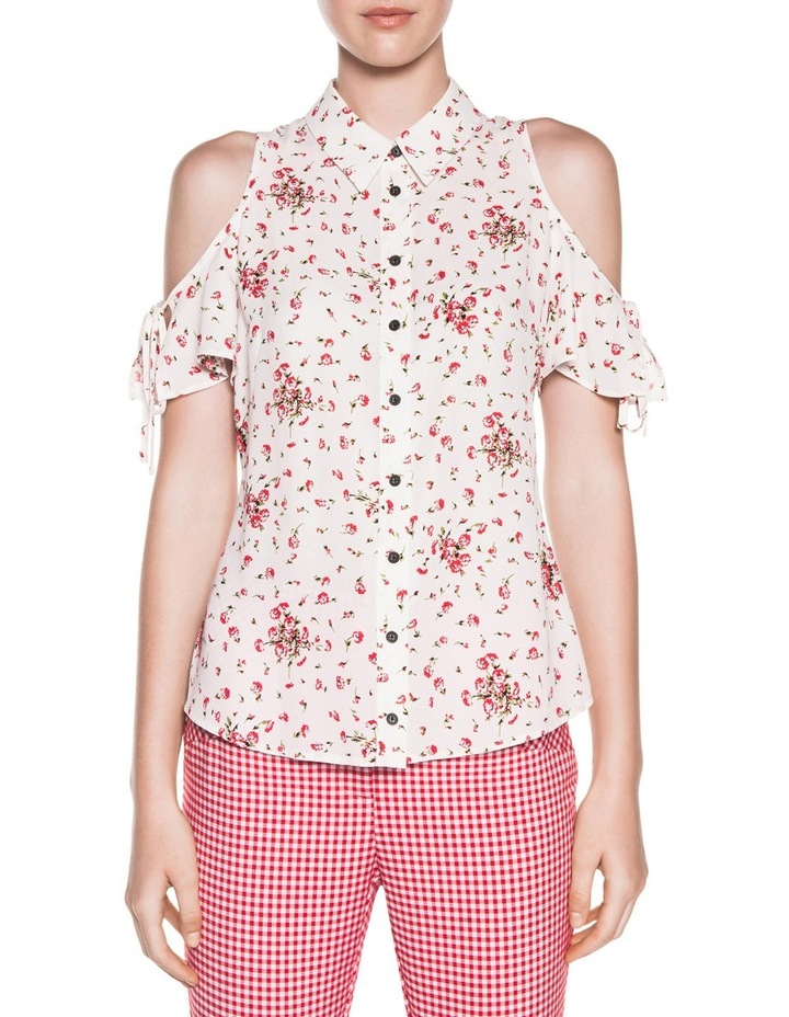 Blossom Georgette Tie Sleeve Shirt image 1
