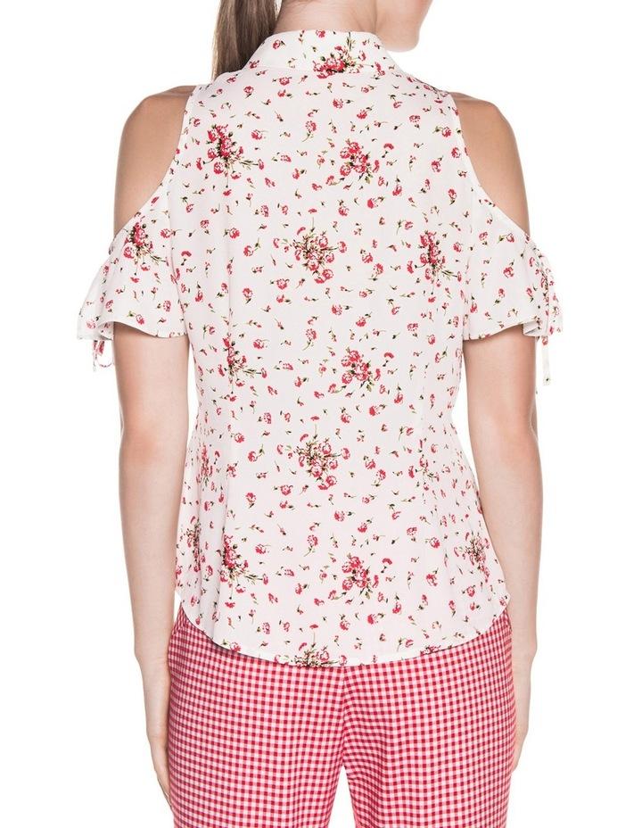 Blossom Georgette Tie Sleeve Shirt image 2
