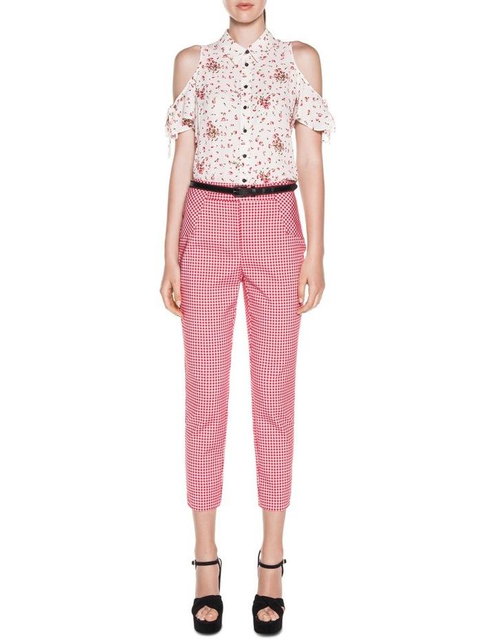 Blossom Georgette Tie Sleeve Shirt image 3