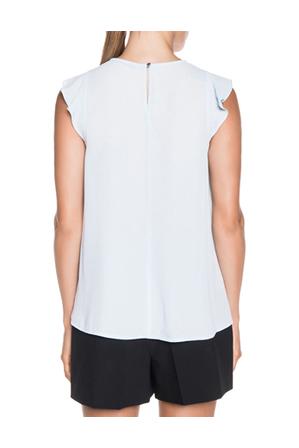 Cue - Fluted Sleeve Georgette Top