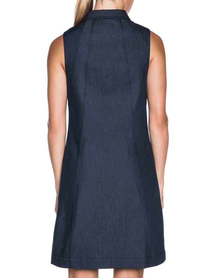 A-Line Denim Dress image 2