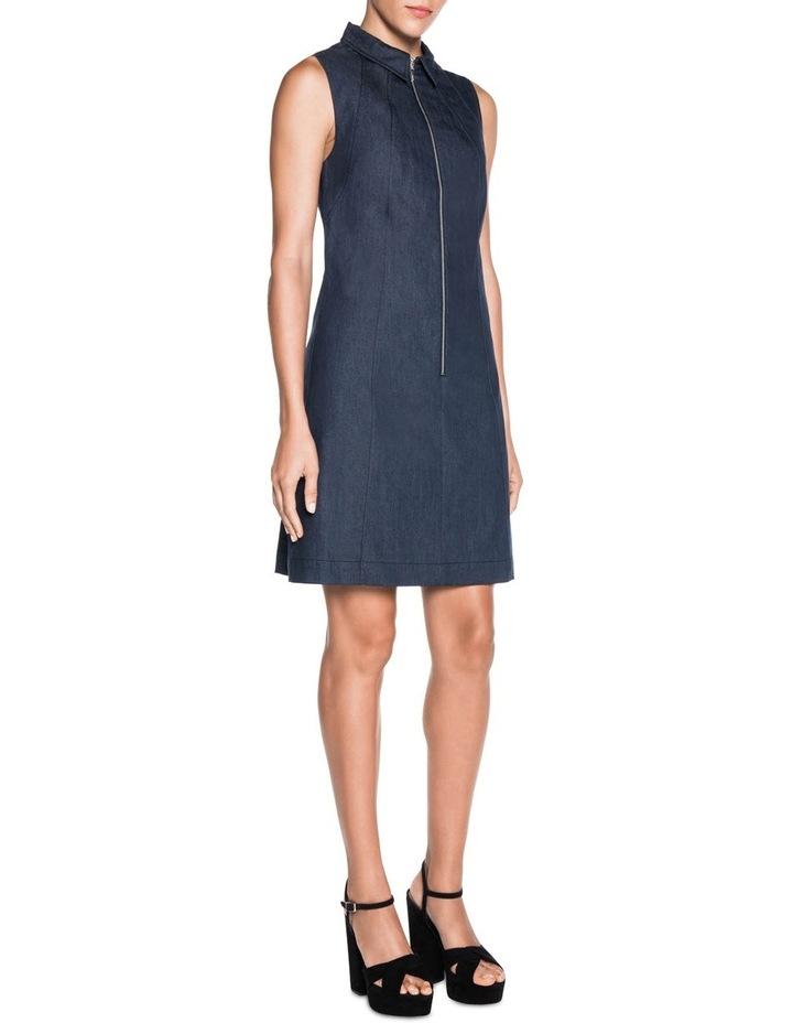 A-Line Denim Dress image 3