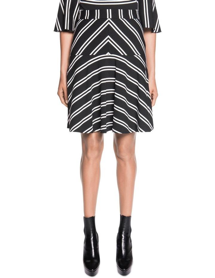 Stripe Fluted Skirt image 1