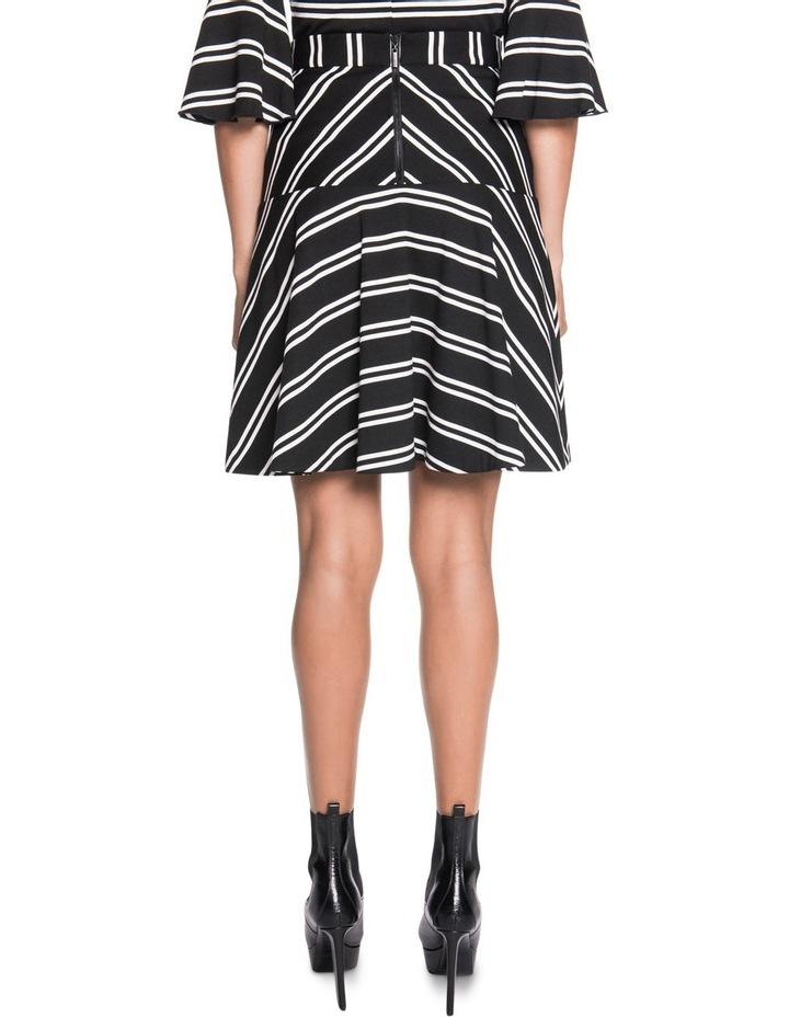Stripe Fluted Skirt image 2