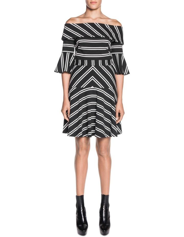 Stripe Fluted Skirt image 3