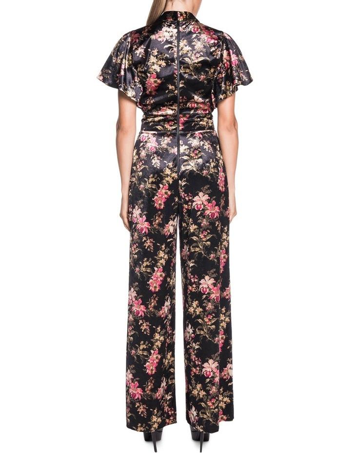 da827172e8c Floral Velvet Jumpsuit image 3