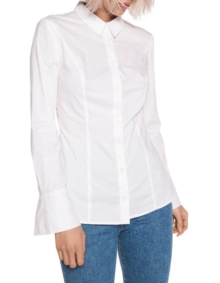 Panelled Cotton Shirt image 2