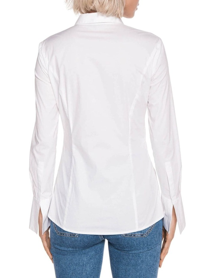 Panelled Cotton Shirt image 3