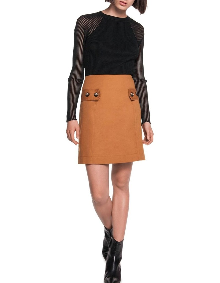 Cotton A-Line Skirt image 1