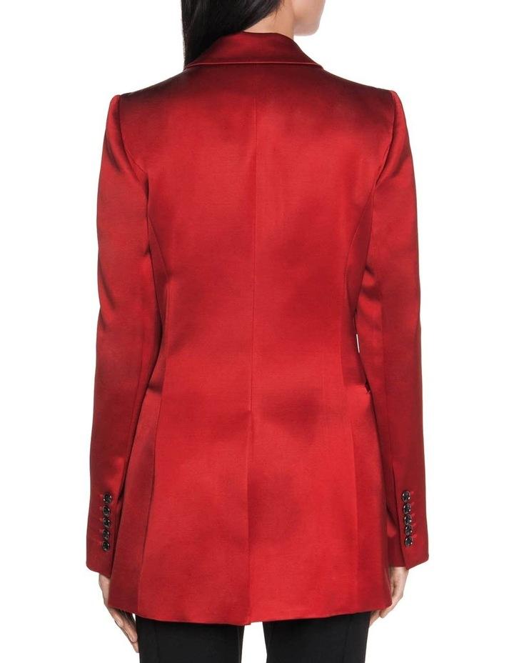 Wool Satin Blazer image 3