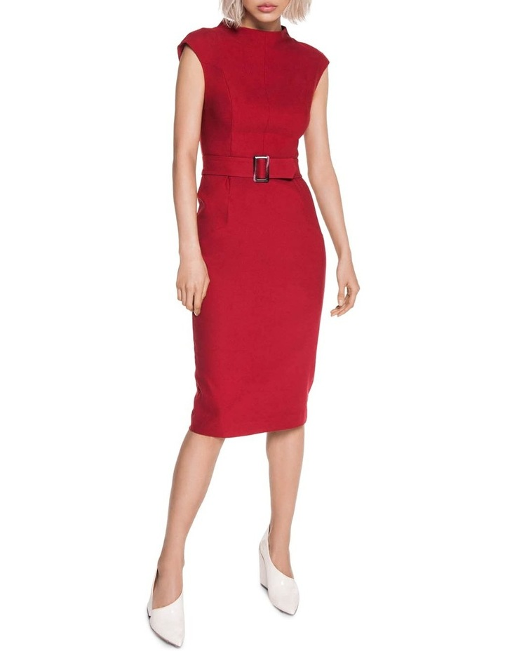 7f8d2ca58fc Cue | Cherry Belted Pencil Dress | MYER
