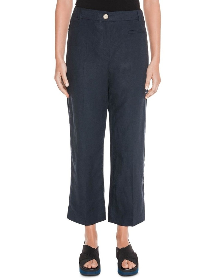 Linen Cropped Pant image 2