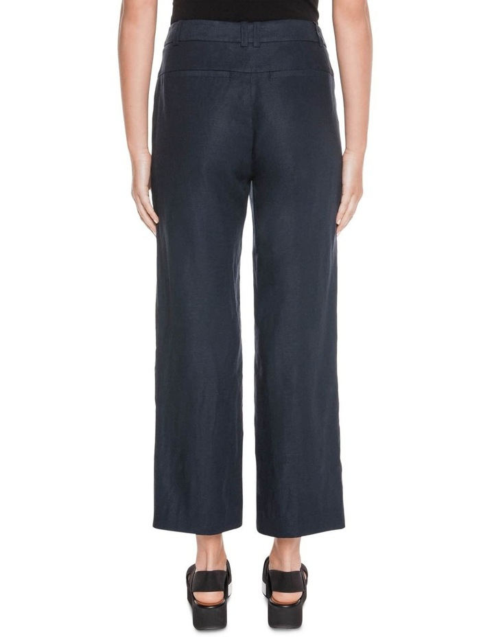 Linen Cropped Pant image 3