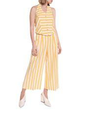 Linen Stripe Waistcoat