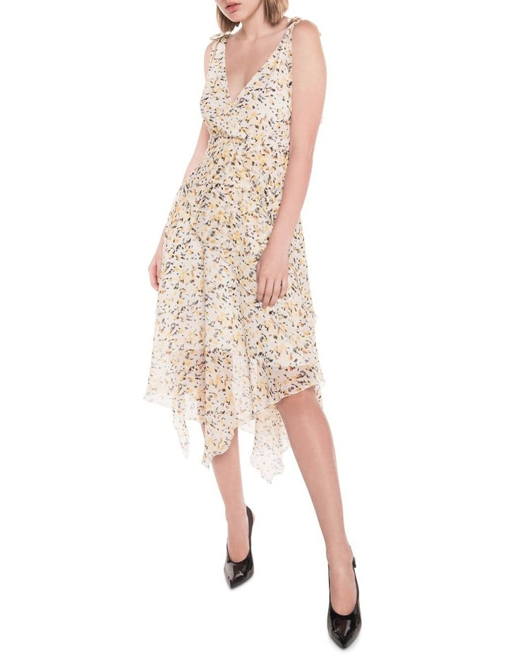 Abstract Animal Georgette Dress image 1
