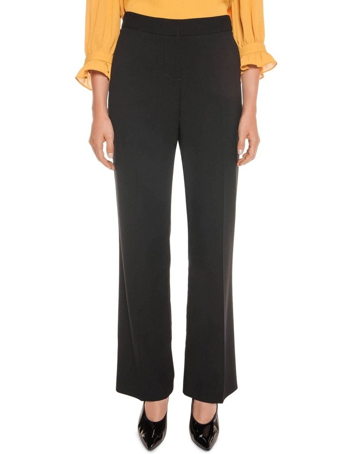 Angled Pocket Wide Leg Suit Pant image 1